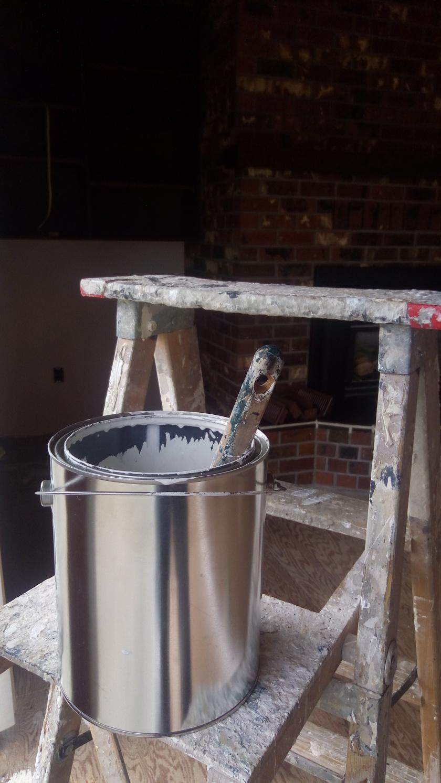#varnish #Blue Boy Painter #painter #painting #staining painting